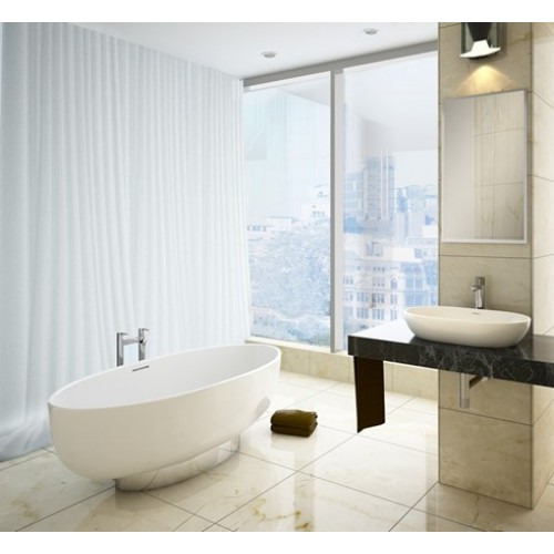 Clearwater Puro with Plinth Freestanding Bath