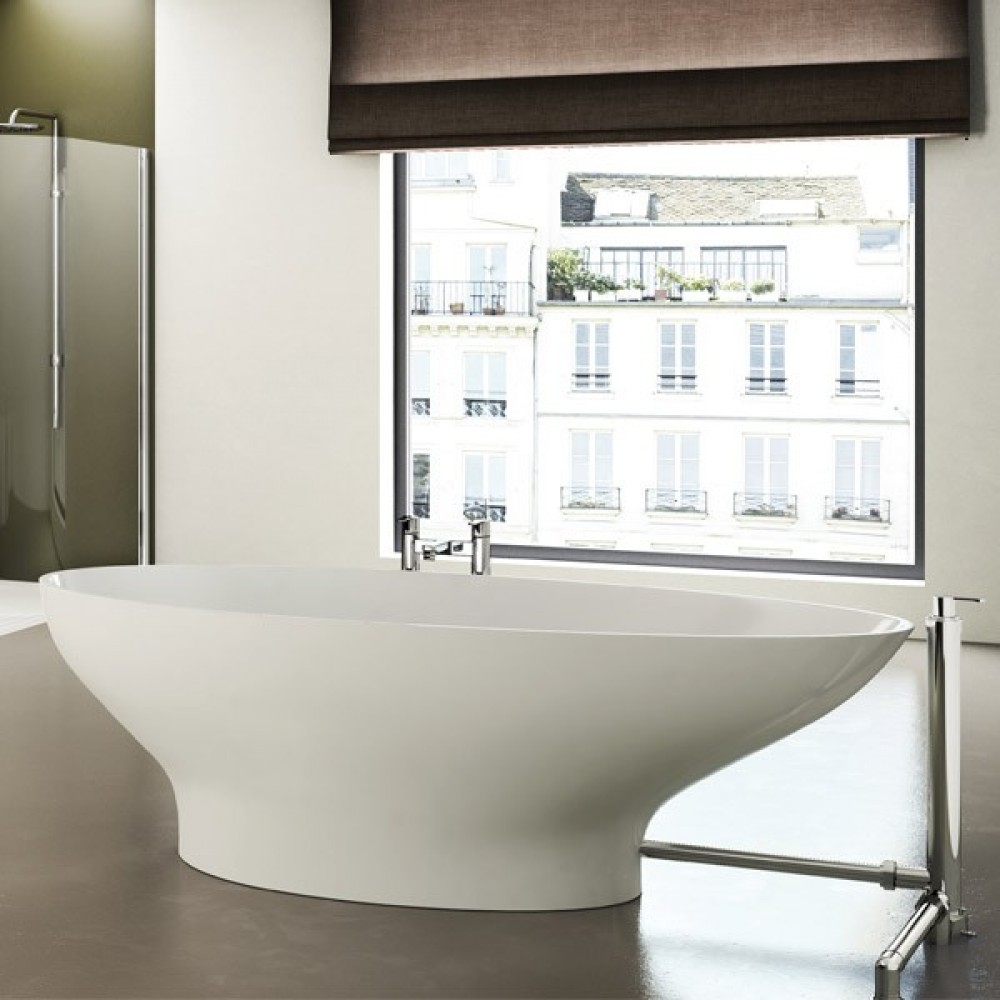 Clearwater Teardrop Grande Freestanding Bath