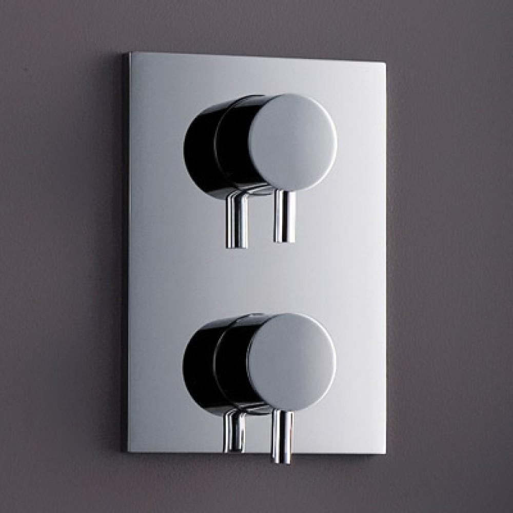Matki Elixir Concealed Single/Dual Outlet Shower Mixer & Integral Diverter EXO5/O