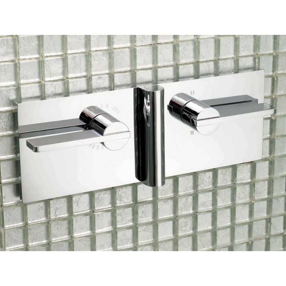 Matki Elixir Blade Concealed Single/Dual Outlet Shower Mixer & Integral Diverter EX20