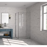 Merlyn Series 10 Pivot Door (with side panel)