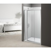 Merlyn Series 6 Sliding Door With Inline Panel