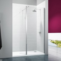 Merlyn Series 8 Shower Wall with Swivel Panel