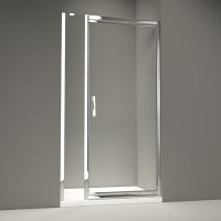 Merlyn Series 8 Infold Door & Inline Panel