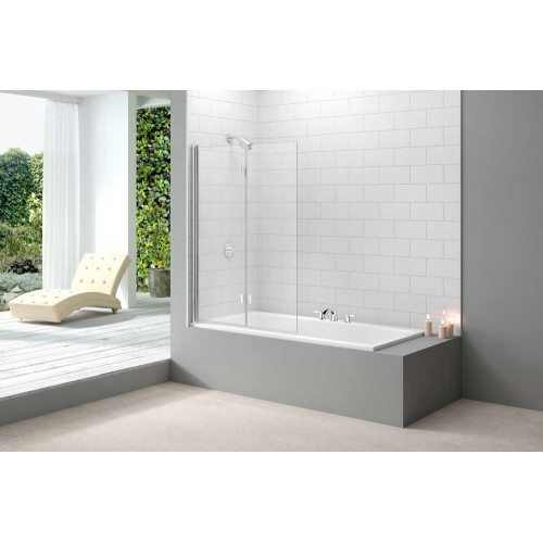 Merlyn MB8  2 Panel Folding Bath Screen