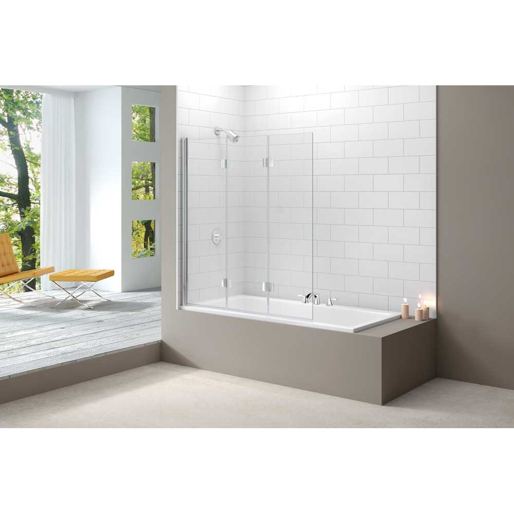 Merlyn MB9 3 Panel Folding Bath Screen