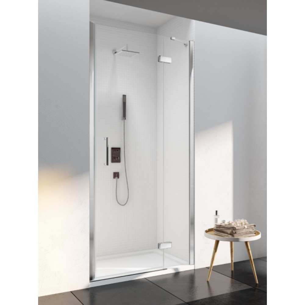 Merlyn Series 6 Frameless Hinge & Inline Door