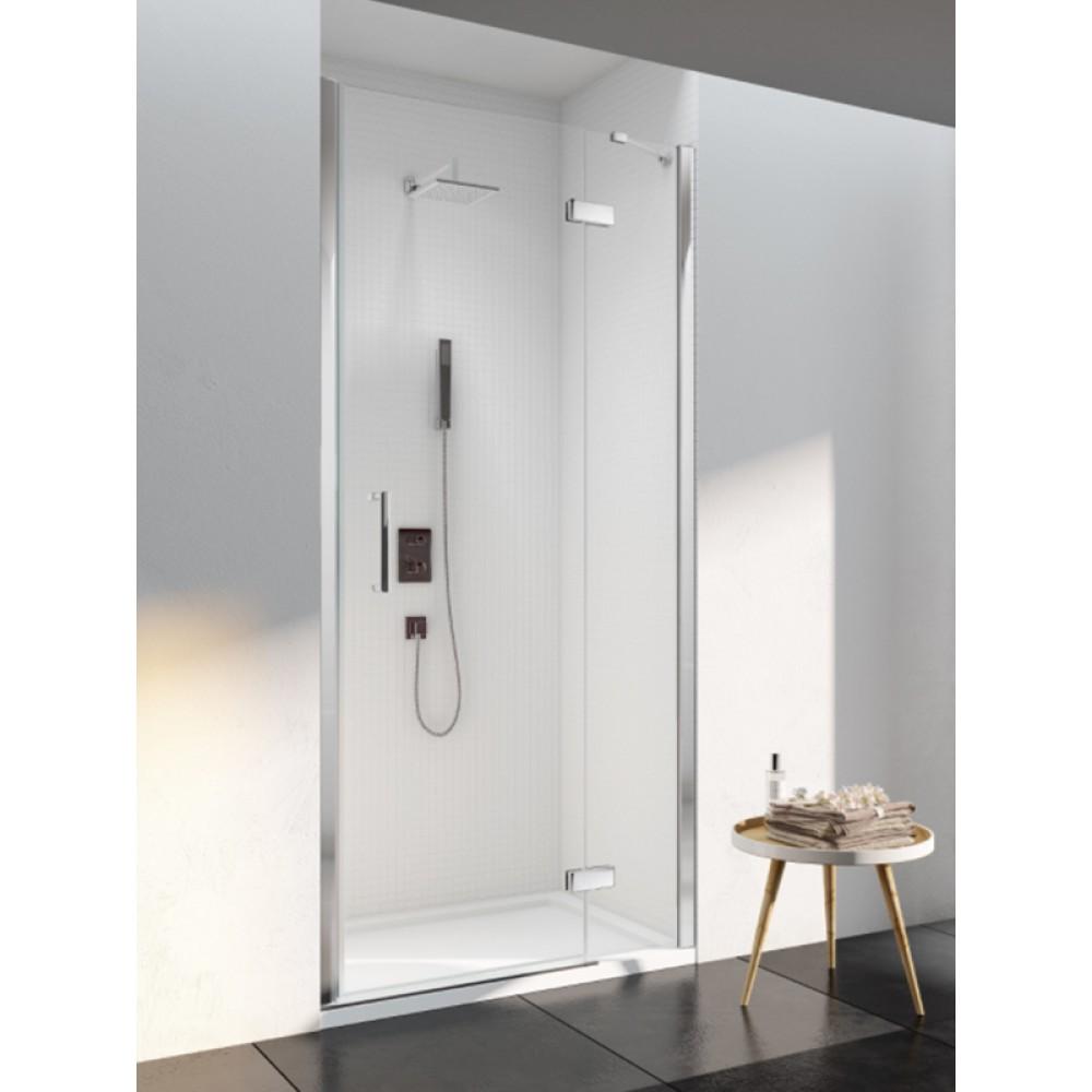 Merlyn Series 6 Frameless Hinge & Inline Door