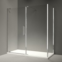Merlyn Series 10 Pivot Door And Inline Panel
