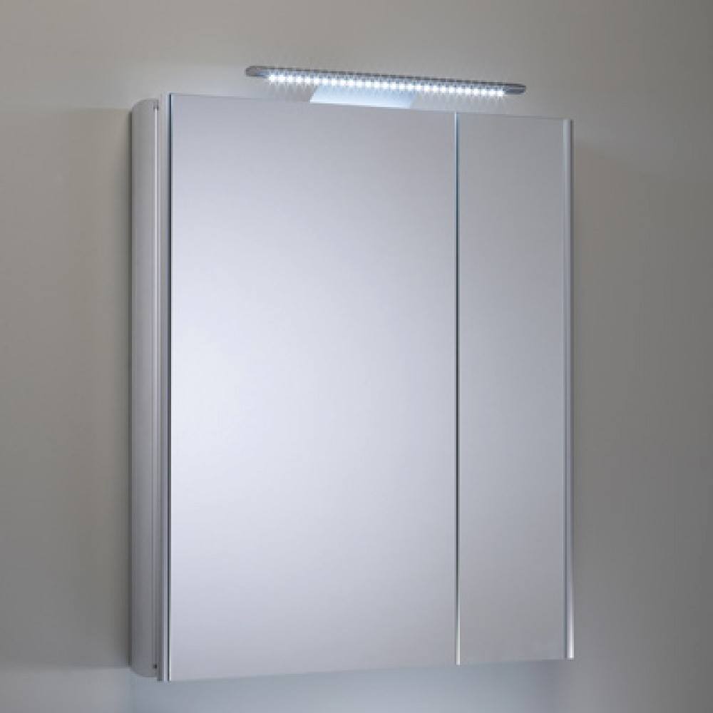 Roper Rhodes Refine Illuminated Double Mirror Glass Door Cabinet AS615ALSL
