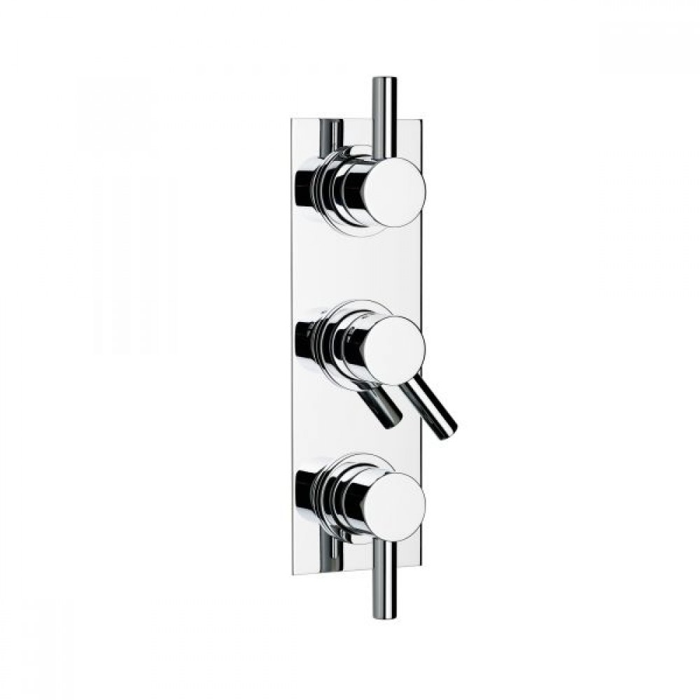 Swadling Absolute Double Controlled Thermostatic Shower Mixer - 6200