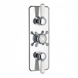 Swadling Invincible Double Controlled Thermostatic Shower Mixer - 7200 - 7209