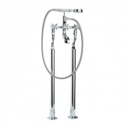 Swadling Illustrious Floor Mounted Manual Bath/Shower Mixer - 9840 - 9849