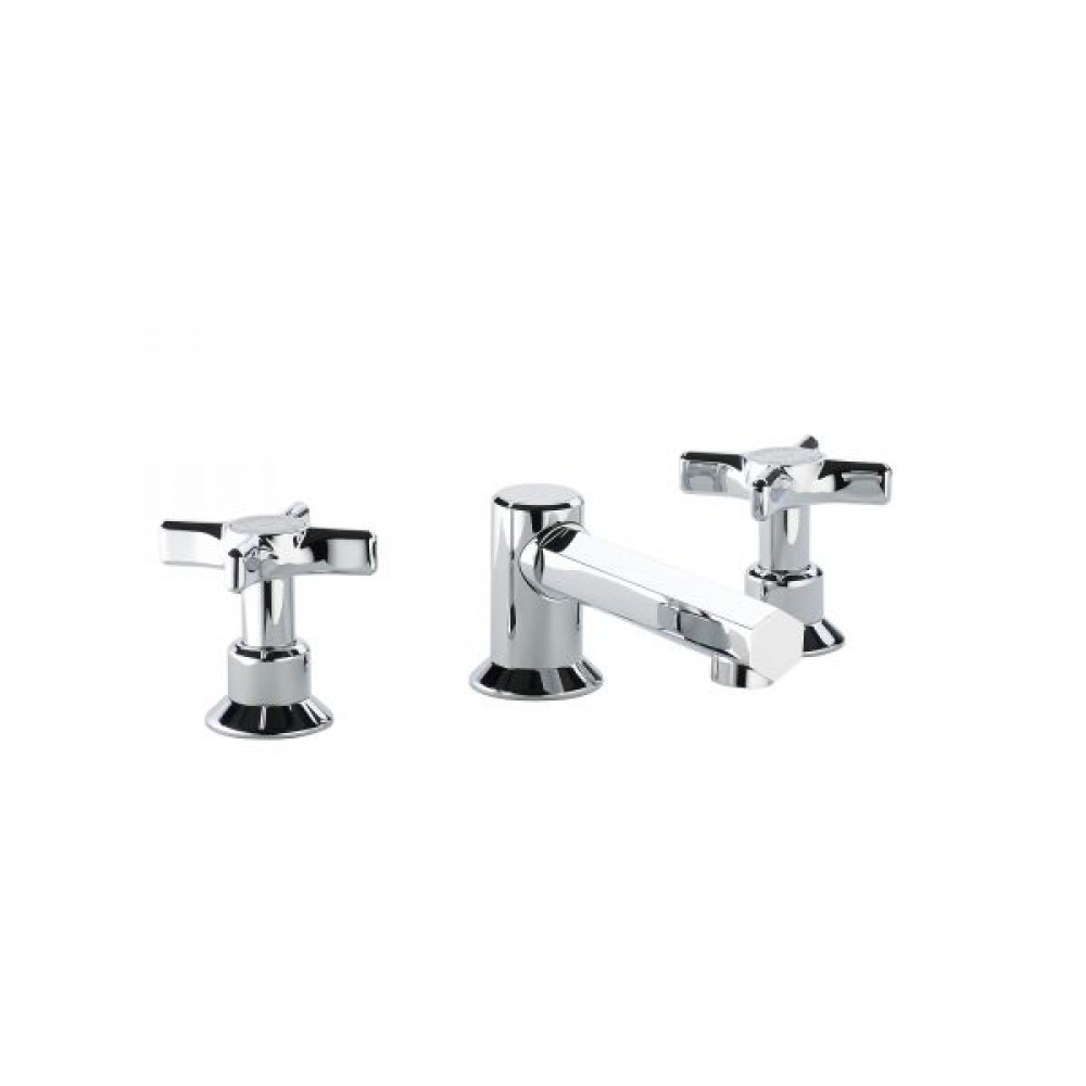 Swadling Illustrious Standard Height Deck Mounted Basin Mixer - 9600 - 9629