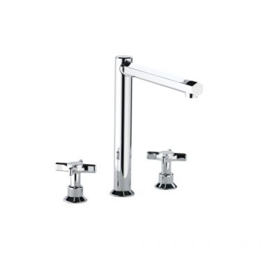 Swadling Illustrious Tall Height Deck Mounted Basin Mixer - 9660 - 9689