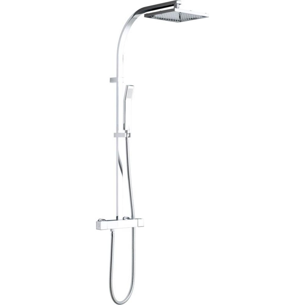 VADO Shower Pack VEL-149RRK-SQ-CP